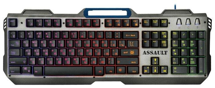 6 предложений товара Клавиатура Defender Assault GK-350L RU — купить по выгодной цене на Яндекс.Маркете