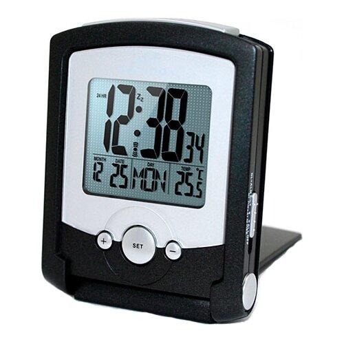 Часы с термометром WENDOX W2713-B, черный