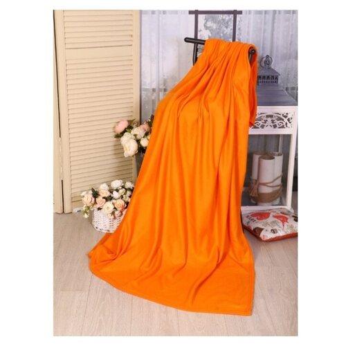 Плед Текстильная лавка 130х150 см, оранжевый