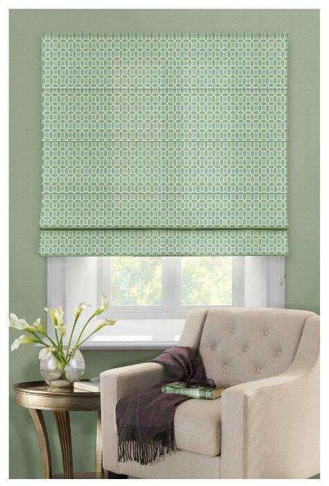 Римская штора Эскар Линза (зеленый)