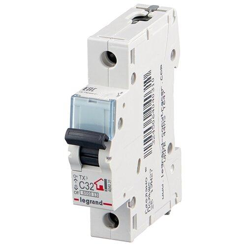 Автоматический выключатель Legrand TX3 1P (C) 6kA 32 А