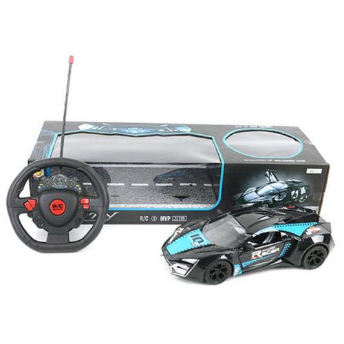 Легковой автомобиль Shantou Gepai Racer (168-11) 1:16 26 см черный noise