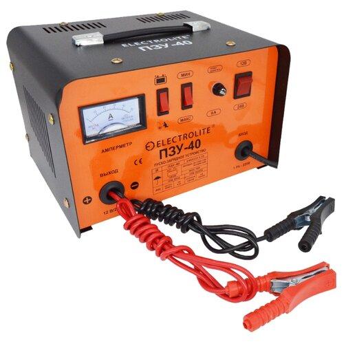 Пуско-зарядное устройство ELECTROLITE ПЗУ-40 6000 Вт 12/24 В 10-300 А*ч