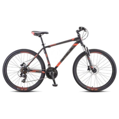 Фото - Горный (MTB) велосипед STELS Navigator 500 D 26 F010 (2020) черный/красный 16 (требует финальной сборки) горный mtb велосипед stels miss 5000 md 26 v010 2019 бирюзовый 17 требует финальной сборки