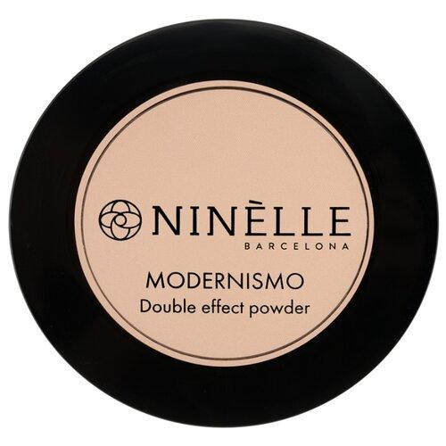 Ninelle Пудра компактная Modernismo двойного действия 224 розово-бежевый