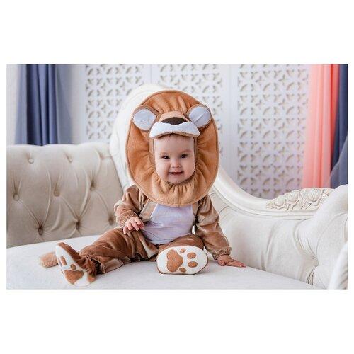 Костюм Baby-suit Львенок Лео (DK01.1), коричневый, размер 80