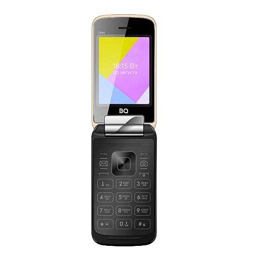 Телефон BQ 2816 Shell золотистый