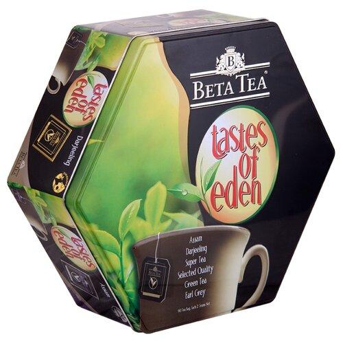 Чай Beta Tea Райские вкусы ассорти в пакетиках подарочный набор , 90 шт.