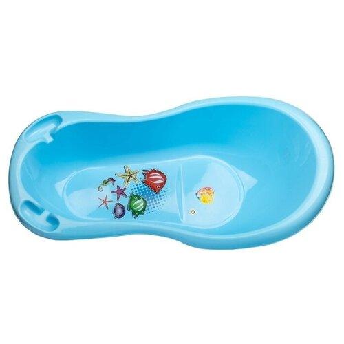 Купить Ванночка elfplast 033 голубой, Ванночки