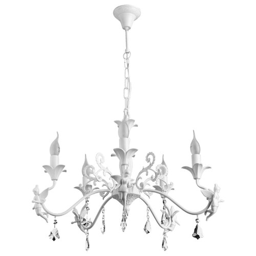 Люстра Arte Lamp Angelina A5349LM-5WH, E14, 200 Вт люстра arte lamp gracia a1528lm 5wh e14 200 вт