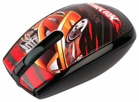 Мышь Modecom MC-320 ART HOT WHEELS 1 USB