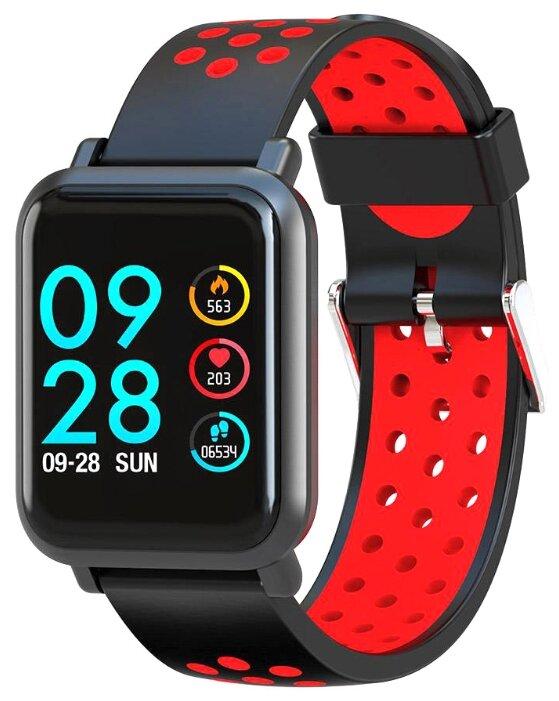 Купить Умные часы ColMi S9 Plus красный по низкой цене с доставкой из Яндекс.Маркета (бывший Беру)