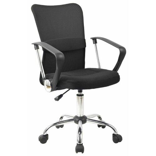 цена Компьютерное кресло College H-298FA-1, обивка: текстиль, цвет: черный онлайн в 2017 году