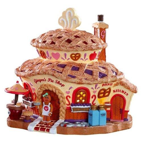 Фигурка Lemax Имбирный пирог 17.2 х 18 х 14.7 см бежевый по цене 11 430