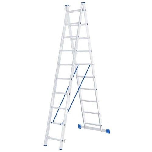 Лестница трансформер 2-секционная Сибртех 97910