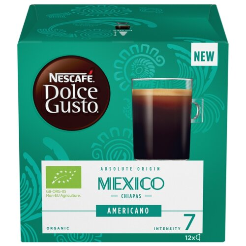Кофе в капсулах Nescafe Dolce Gusto Mexico Americano (12 капс.), без кофеина кофе в капсулах nescafe dolce gusto mexico americano 12 капс