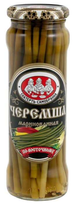 Черемша маринованная по-восточному Скатерть-самобранка, 330 г — в наличии, купить по выгодной цене на Яндекс.Маркете