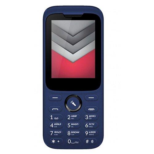 Телефон VERTEX D552 синий мобильный телефон vertex d503 жёлтый 2 4