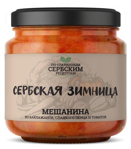 Мешанина из баклажанов, сладких перцев и томатов Сербская зимница, 460 г - Характеристики - Яндекс.Маркет