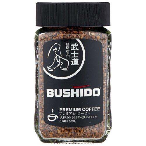 Кофе растворимый Bushido Black Katana, 100 г фото