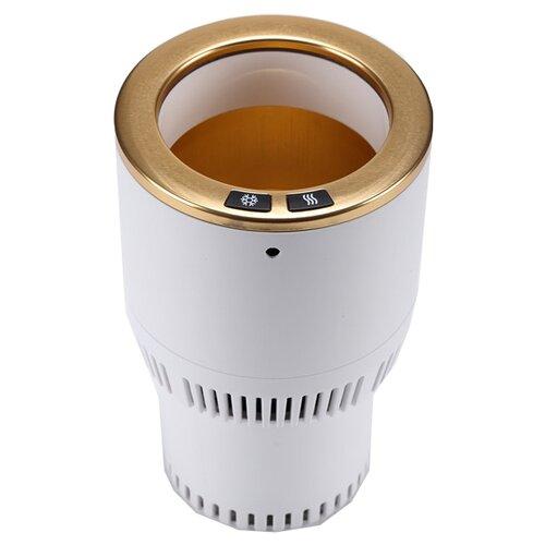 Термоподстаканник Paltier Smart Cup белый с золотом