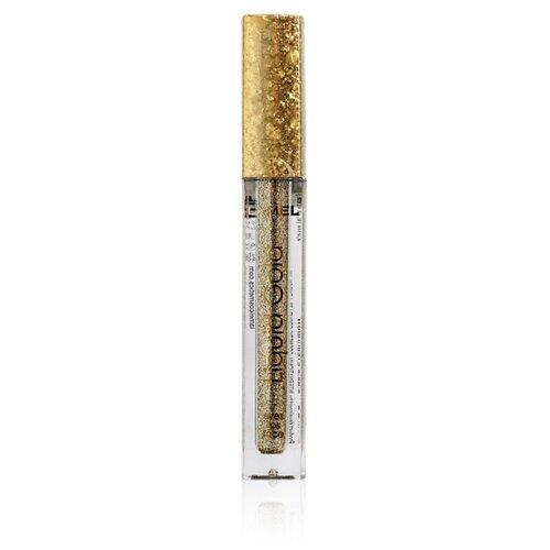 Lamel Professional Жидкий глиттер для макияжа Liquid 01 gold недорого