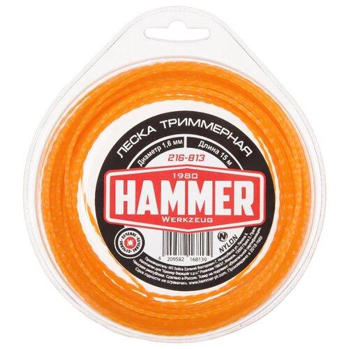 Леска Hammer 216-813 1.6 мм 15 м