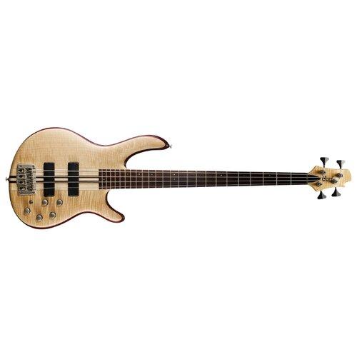 Бас-гитара Cort A4 Plus FMMH Open Pore Natural