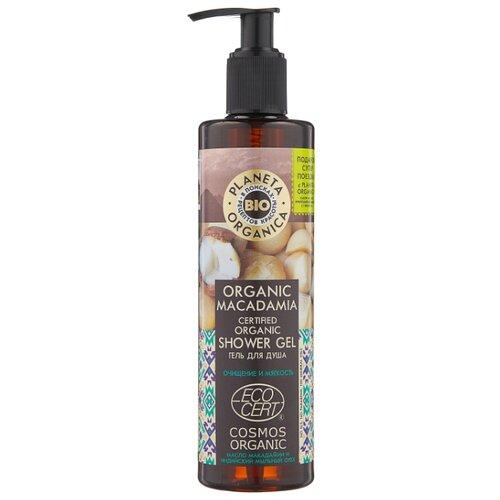 Гель для душа Planeta Organica Organic macadamia, 280 мл недорого