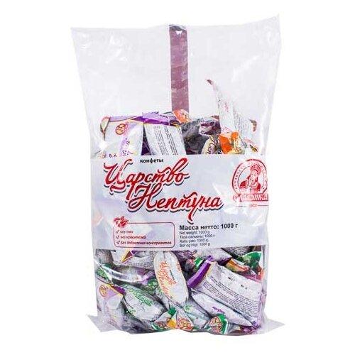 Конфеты Славянка Царство Нептуна, ассорти, пакет, 1 кг конфеты славянка фарс шоколадная нуга с желе и шариками пакет 1 кг