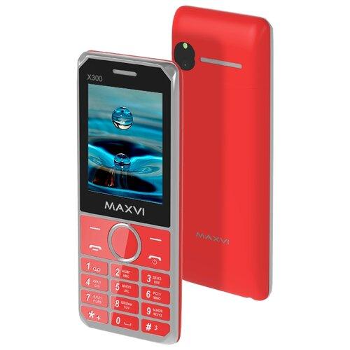 Фото - Телефон MAXVI X300 красный телефон maxvi x650 красный