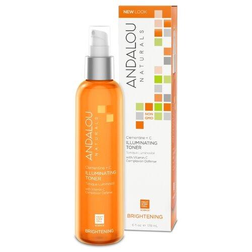 Andalou Naturals Тоник Brightening Клементин + витамины 178 мл