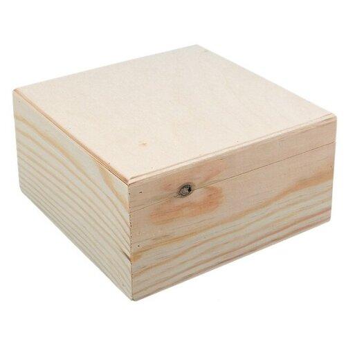 Купить Mr. Carving Заготовка для декорирования Шкатулка ВД-366 бежевый, Декоративные элементы и материалы