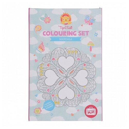 Купить Tiger Tribe Набор для рисования Colouring set Mandala Узоры, Наборы для рисования