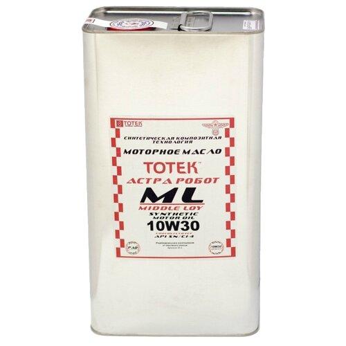 Синтетическое моторное масло TOTEK Астра Робот ML SAE 10W30, 5 л