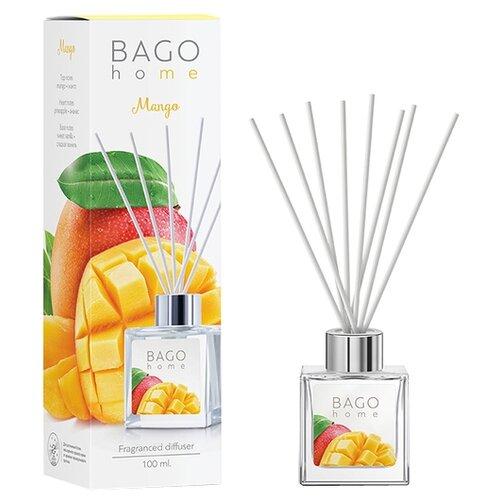 BAGO home диффузор Манго, 100 мл диффузор ароматический bago home свежий хлопок 100 мл