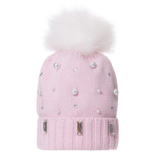 Шапка-бини Trestelle размер 54/56, розовый комплект женский nuages бини nhk 813 розовый размер 56