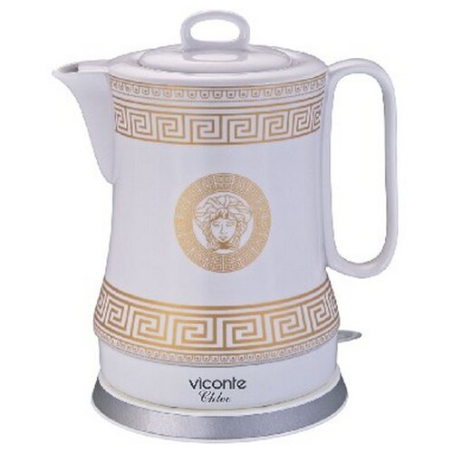 Чайник Viconte VC-3289, белый чайник viconte vc 3275