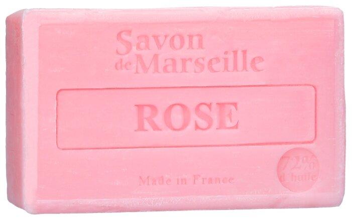 Мыло кусковое Le Chatelard 1802 марсельское Роза
