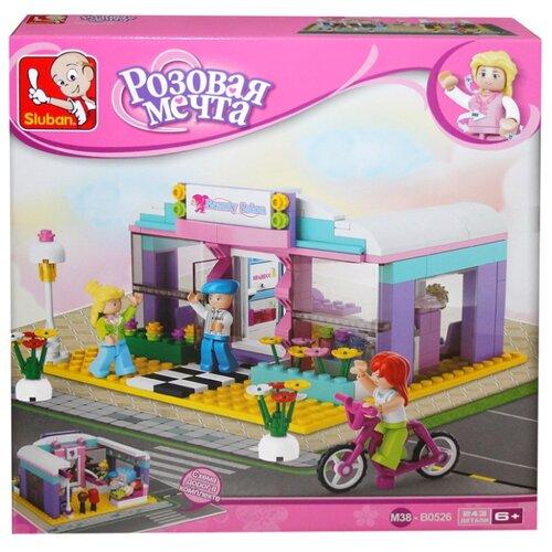 Купить Конструктор SLUBAN Розовая мечта M38-B0526 Салон красоты, Конструкторы
