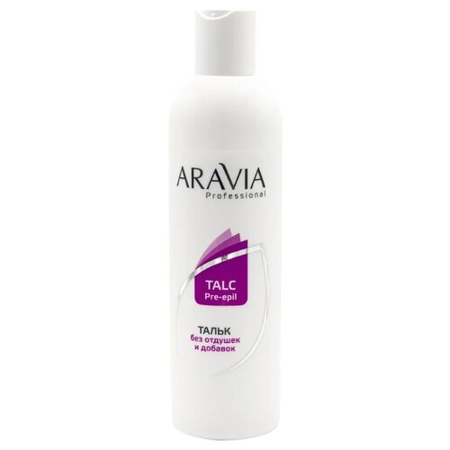ARAVIA Professional Тальк без отдушек и добавок 300 мл 180 г aravia professional тальк без отдушек и добавок 150 мл 100 г