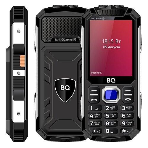 Телефон BQ 2817 Tank Quattro Power черный мобильный телефон bq mobile bq 2817 tank quattro power black