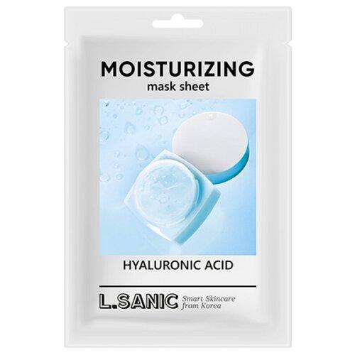 Купить L'Sanic тканевая маска Hyaluronic Acid Moisturizing Mask Sheet увлажняющая с гиалуроновой кислотой, 25 мл