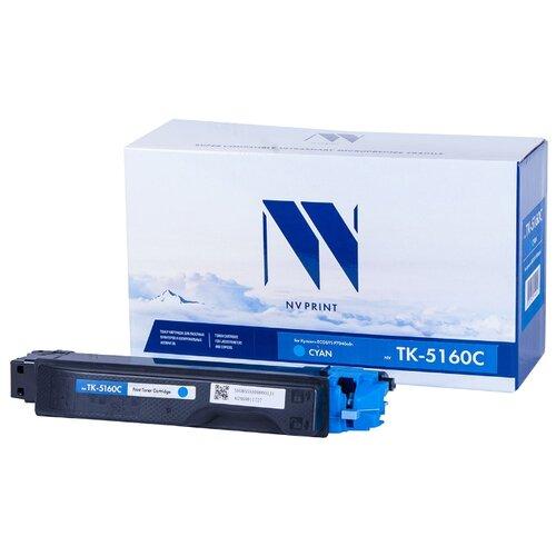 Фото - Картридж NV Print TK-5160 Cyan для Kyocera, совместимый картридж nv print tk 8335 cyan для kyocera совместимый