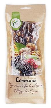 Чурчхела Семушка с грецким орехом в тутовом сиропе 170 г — купить по выгодной цене на Яндекс.Маркете