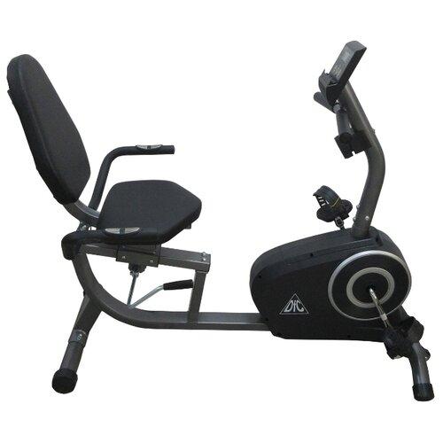 Горизонтальный велотренажер DFC B5076 черный велотренажер dfc 14748