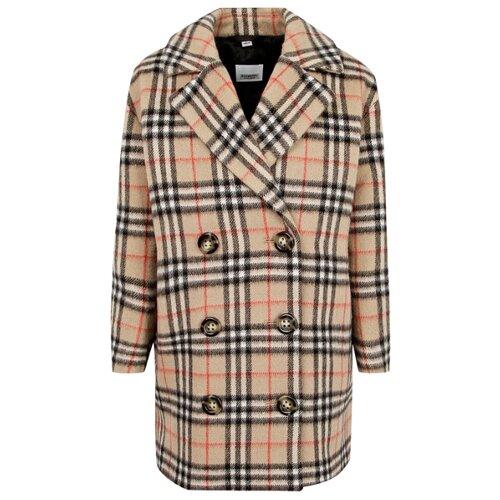 Пальто Burberry 8016586 размер 140, бежевый