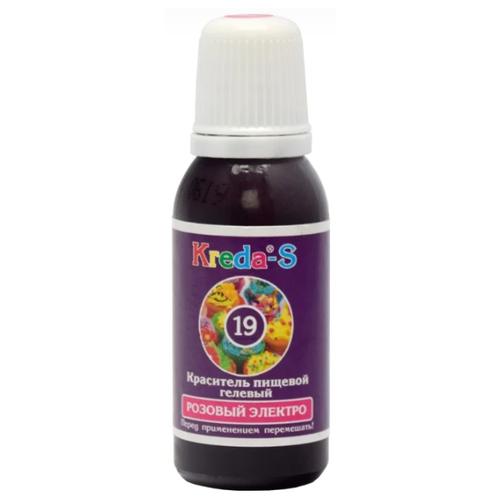 KREDA - S Краситель пищевой гелевый №19 Розовый электро 25 г