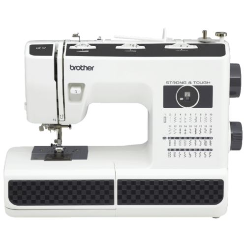 Швейная машина Brother HF 37, белый/черный швейная машина brother comfort 15