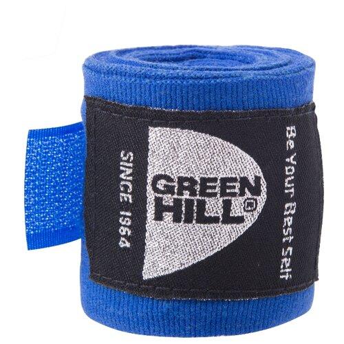 Кистевые бинты Green hill BC-6235a 2,5 м синий
